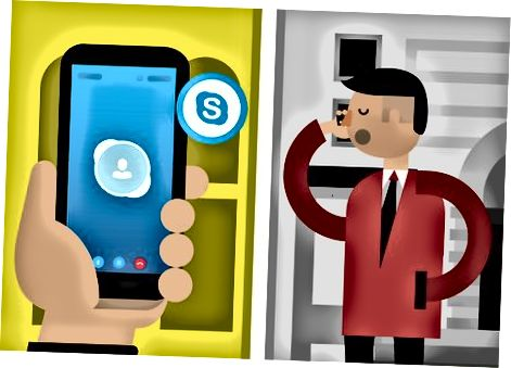 Skype orqali qo'ng'iroq qilish