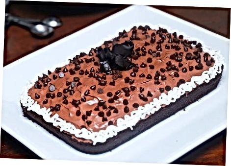 Shokolad keki tayyorlash