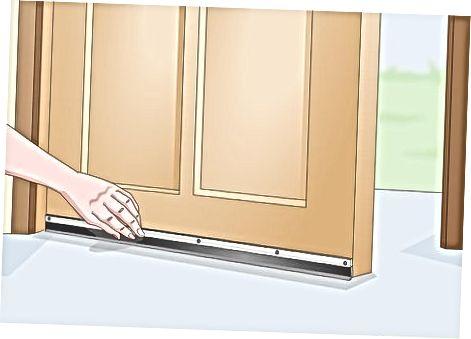 Դռան մաքրում ավելացնելով