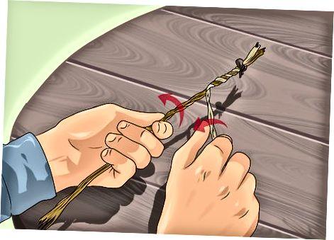 Правене на въже с основен обрат