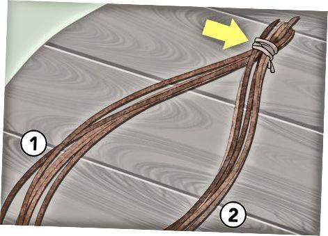 Изработване на въже с обратна обвивка
