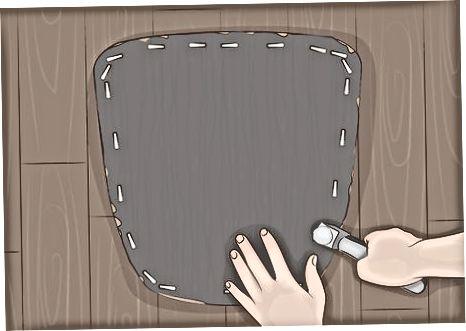 Putekļu pārsega un polsterējuma nomaiņa