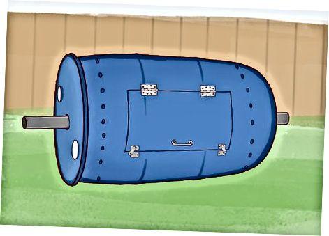 Barrelli rulonli dumg'aza kompostini qurish