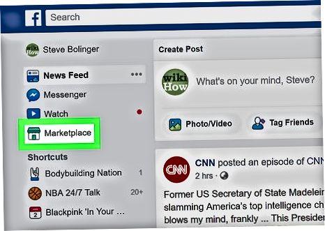 Facebook Marketplace-da reklama