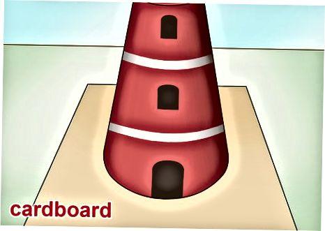 Lighthouse modelini yaratish
