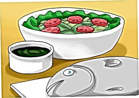 Baliq sho'rvalari va salatlarini sinab ko'rish