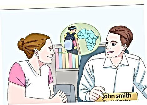 Missionerlik tashkilotini tadqiq qilish va tanlash