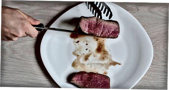 Broker bilan biftek tayyorlash