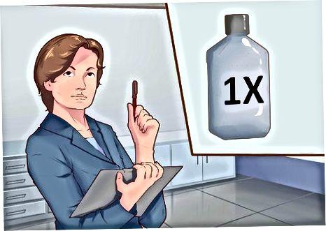 Разреждане на 10X запаса до 1X