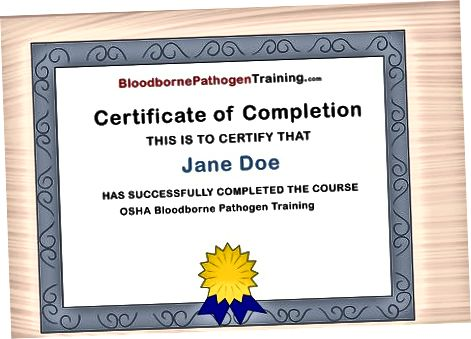 Sizning sertifikatingizni olish