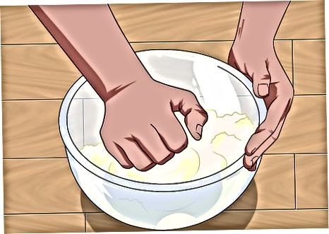 Оформяне на тестото Roti