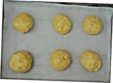 Печене на бисквитки с картофи с чист картоф