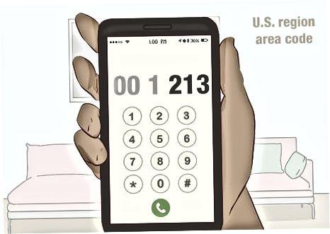 AQShga an'anaviy telefon orqali qo'ng'iroq qilish