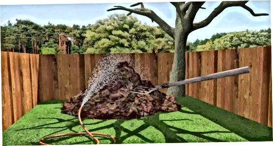 Kompost qozig'ini saqlash