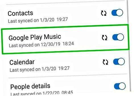Android uchun Google Play Music-dan foydalanish