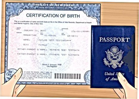 AQSh pasportini olish uchun ariza berish