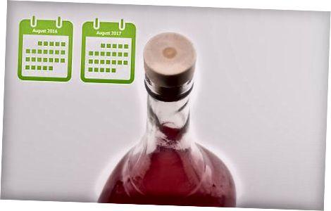 Бутилиране и сервиране на гранатово вино
