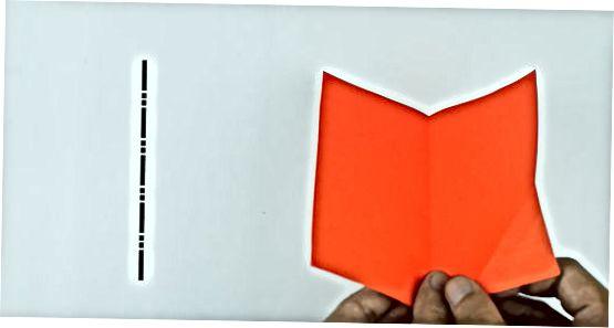 Четене на диаграма на оригами