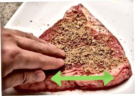Biftekni marinatlash