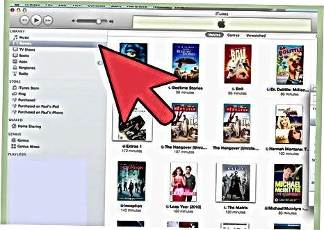 ITunes-ga filmlar va videolarni import qiling