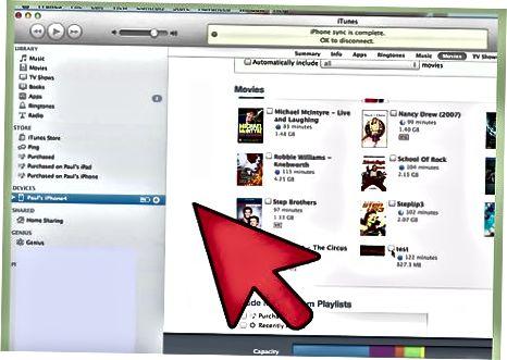 IMovies dasturini Apple TV uchun iTunes-ga eksport qiling