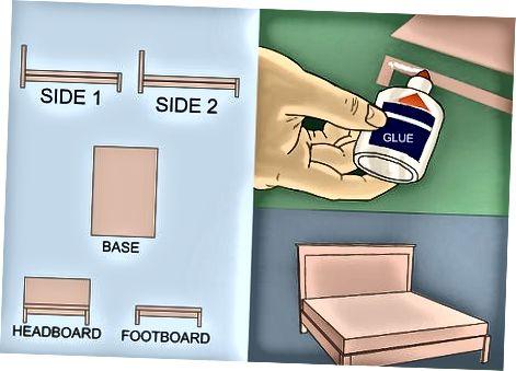 Създаване на легло