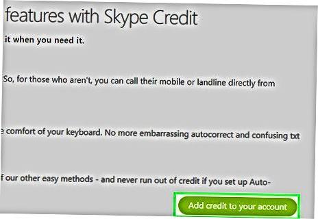 Arubaga qo'ng'iroq qilish uchun Skype-dan foydalanish