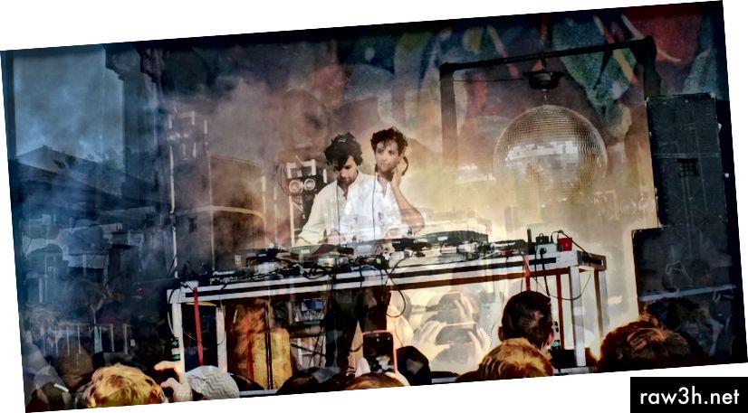 جيمي xx يلعب في هاملتون ، كندا (صورة لي)