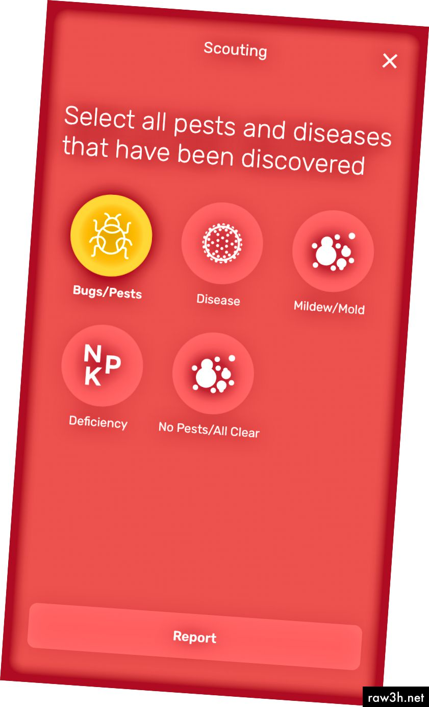 Екранна снимка на съобщенията за грешки, открити в приложението Smart Yields.