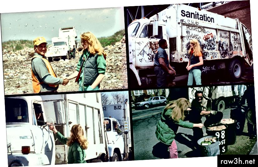 Mierle Laderman Ukeles ، Touch Sanitation ، 1979-1980. أخبر أوكليس كل عامل ،