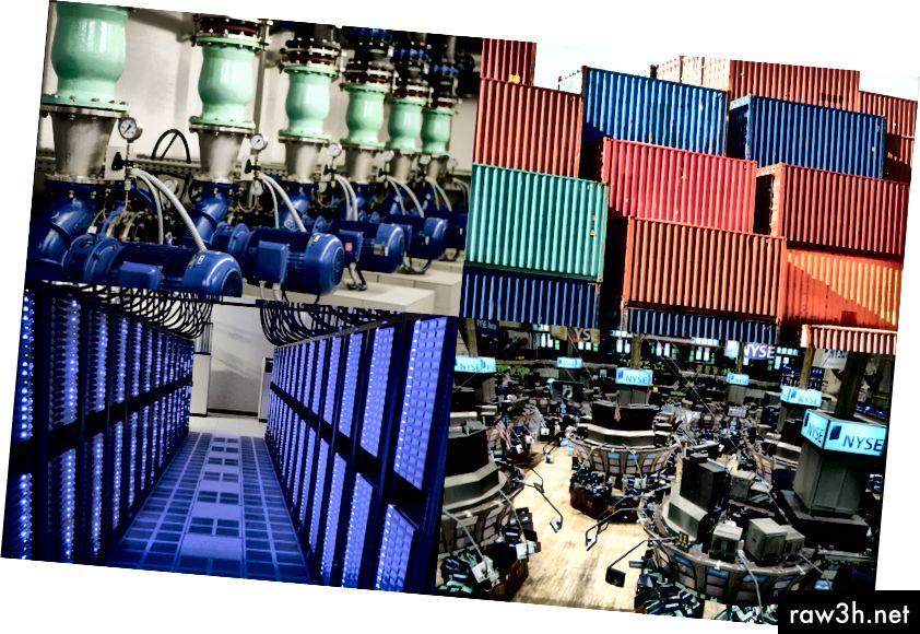 تنشأ بيانات السلاسل الزمنية من العديد من الإعدادات المختلفة: الآلات الصناعية ؛ النقل والخدمات اللوجستية؛ DevOps ، مركز البيانات ، ومراقبة الخادم ؛ والتطبيقات المالية.