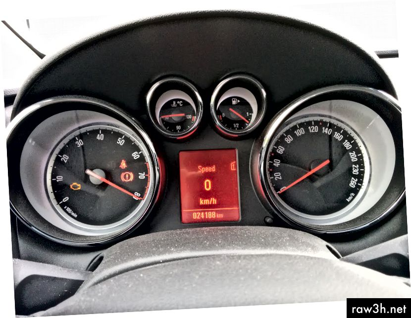 RPM المخادعة مع إيقاف تشغيل المحرك.