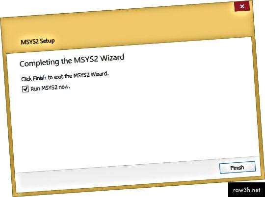 يتطلب RubyInstaller2 MSYS2 - الذي يجب تثبيته بشكل مستقل.