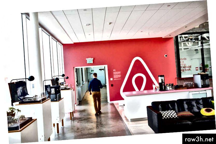 Офисът на Airbnb в Сан Франциско