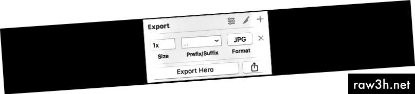 على سبيل المثال ، صورة البطل هي صورة كبيرة ، تتمثل أفضل الممارسات في استخدام تنسيق JPG مع 1x.