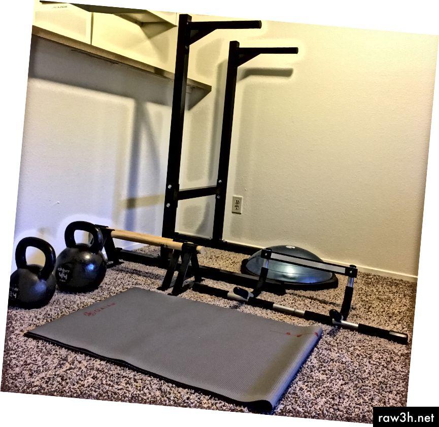 """Всичко, от което се нуждаете за фитнес зала """"дом"""" (апартамент)"""