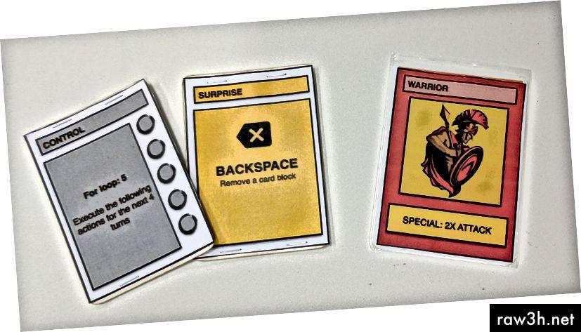 لمعلوماتك: لا تدوّن قواطع اللعبة على بطاقات البوكر الخاصة بك. استخدم بطاقة الأكمام بدلا من ذلك. من السهل خلط ورق اللعب.