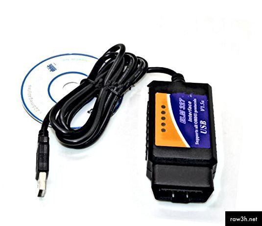 ELM327 وبناء واجهة USB