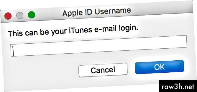 Cydia Impactor تطلب تسجيل الدخول وكلمة مرور Apple Developer أثناء التثبيت