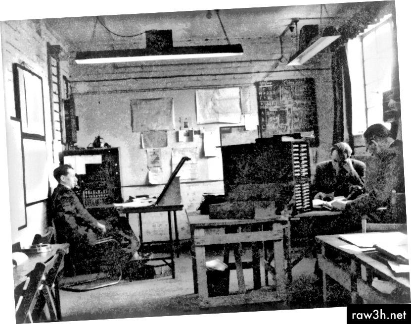 La sala de control de caigudes de la cabana 6.