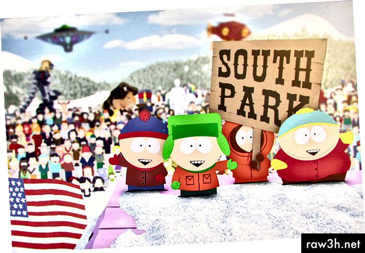 يتمتع كل من مطورو South Park Matt Stone و Trey Parker بنظام جيد لكسر قصة