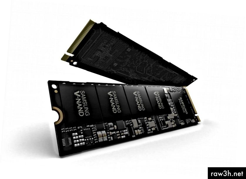 Дисковете на Samsung NVMe, както се предлага на пазара. Крайната перспектива предполага изключителна скорост. Или нещо.