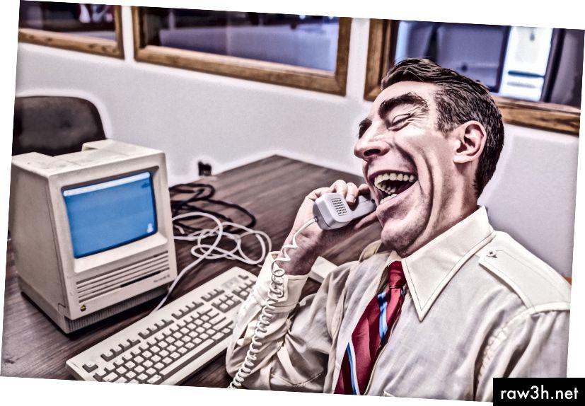 Denne fyr griner af din fejlmeddelelseskopi. I gang med det. Ikke med det. (Billedkredit: Ryan McGuire)