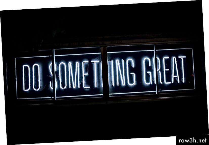 あなたは素晴らしいことをすることができます(そしてします)。 UnsplashのClark Tibbsによる写真