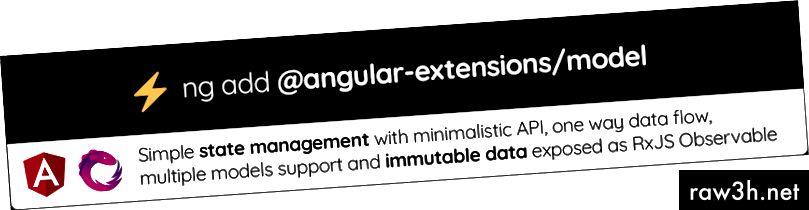 Изпробвайте @ angular-extensions / model library! Вижте документи и Github