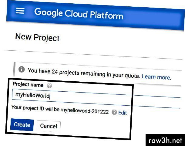 الصورة مجاملة. https://console.cloud.google.com/home