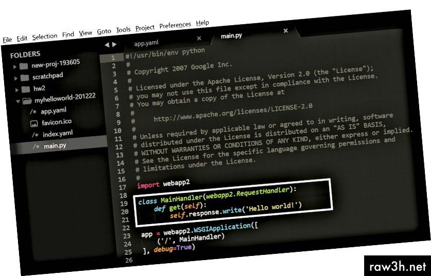 ملف main.py في مجلد webapp