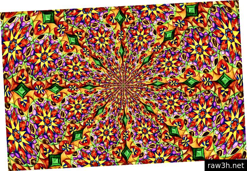 पिक्सबे मार्गे NADIABOTTA चे लक्षवेधी, बहु-रंगीत कॅलेडोस्कोप रेखांकन.