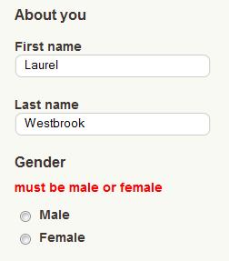 Забележете как тази мярка свързва пола с пола и не предоставя небинарни опции.
