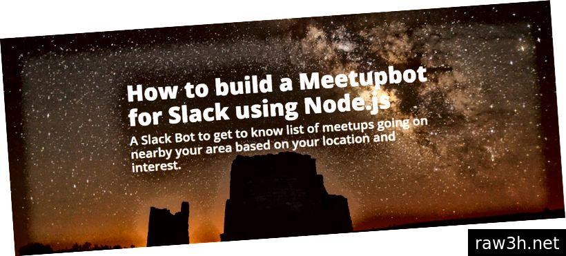 Meetupbot لسلاك